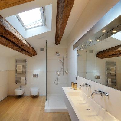 contemporaneo stanza da bagno by menzo architetturadesign