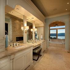 Traditional Bathroom by Bill Frame Custom Homes Ltd