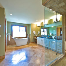 Traditional Bathroom by Sticks and Stones Design Group Inc