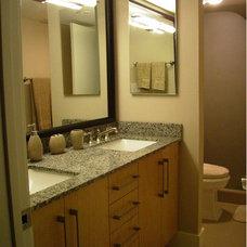 Contemporary Bathroom by Eclipse Designs Inc. by Celina Basagoitia