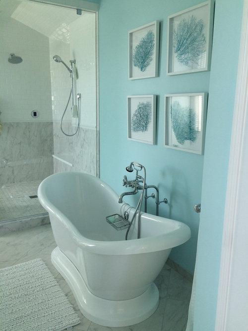 75 Wilmington Subway Tile Bathroom Design Ideas - Stylish Wilmington ...