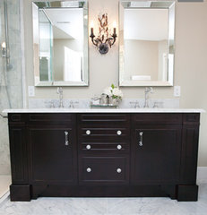 traditional bathroom by CCSR Interior Design