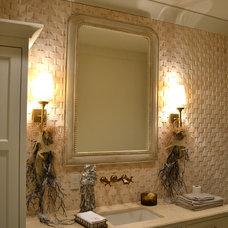 Eclectic Bathroom by RJ Elder Design