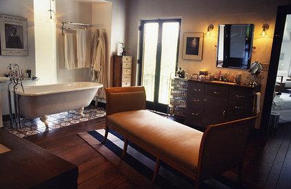 Mediterranean Bathroom by valerie pasquiou interiors + design, inc
