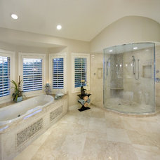 Tropical Bathroom by Don Stevenson Design