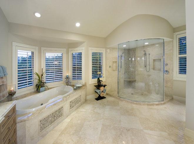 Tropical Bathroom by Don Stevenson Design
