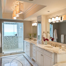 Traditional Bathroom by Collins & DuPont Design Group