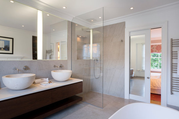 Contemporary Bathroom by tff architects