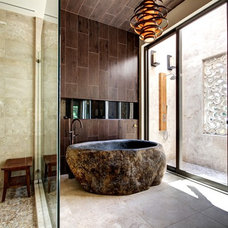 Asian Bathroom by Don Stevenson Design