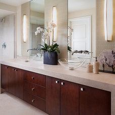 Transitional Bathroom by Insignia Design Group