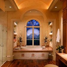 Mediterranean Bathroom by Harwick Homes