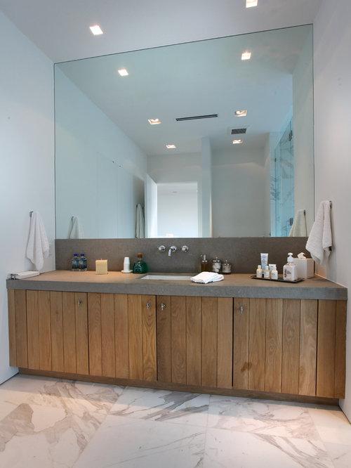 white tile floor. Mid sized modern 3 4 white tile and stone marble floor gray Marble Tile Floor  Houzz