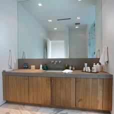 Modern Bathroom by Opustone