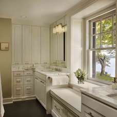 Traditional Bathroom by Kass & Associates