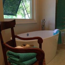 Traditional Bathroom by Kiva Kitchen & Bath Houston - Trevor Childs