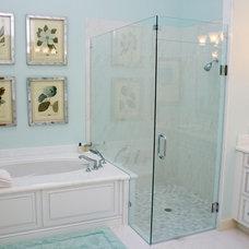 Traditional Bathroom by Susan Lachance Interior Design