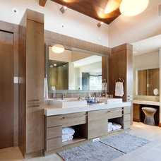 Contemporary Bathroom by Radius Architectural Millwork Ltd.