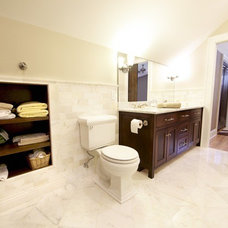 Traditional Bathroom by JDA Design Architects Inc