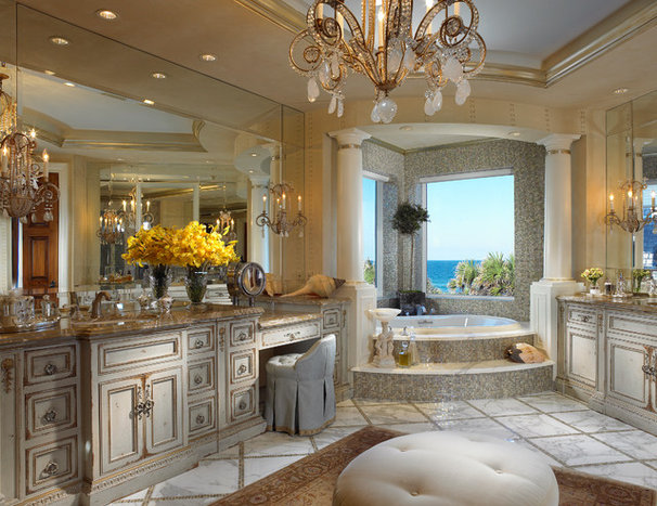 Traditional Bathroom by Marc-Michaels Interior Design