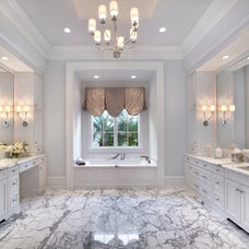 Traditional Bathroom by Ruffino Cabinetry