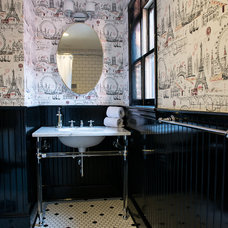 Traditional Bathroom by Trout Design Studio