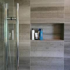 contemporary bathroom by oomph design inc.