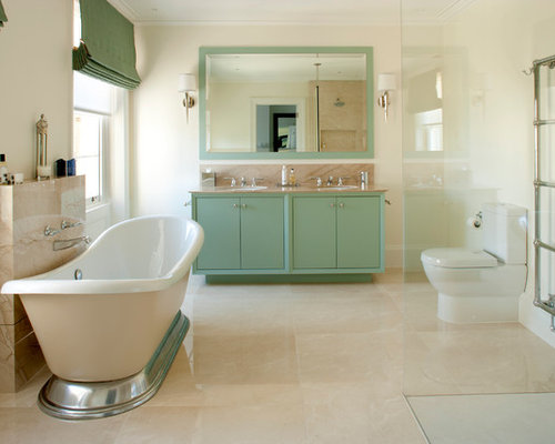 Sage Green Bathroom Houzz