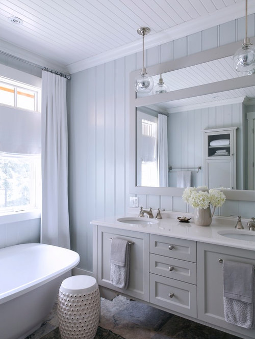 SaveEmail. Bead Board Ceiling Bathroom Design Ideas  Remodels   Photos