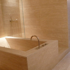 Contemporary Bathroom by A++ Architecture Design Communication