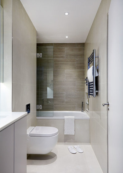 Lovely Contemporary Bathroom by TY Design Studio