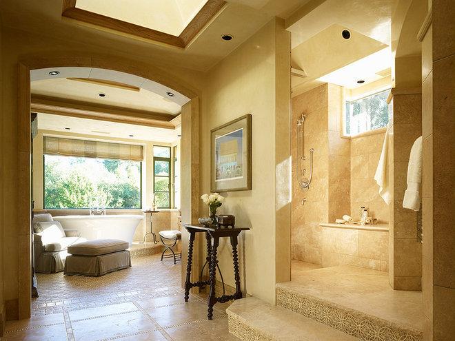 Mediterranean Bathroom by RJ Dailey Construction Co.