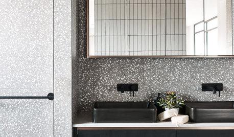 26 Beautiful Terrazzo Bathrooms We Have a Crush on