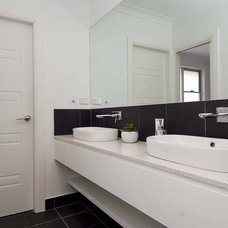 Contemporary Bathroom by Quality Constructions