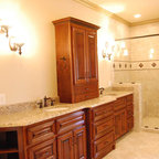 Pebble Shower Traditional Bathroom Jacksonville By
