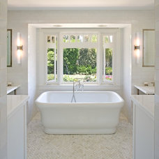 traditional bathroom by Sanctuary Architects