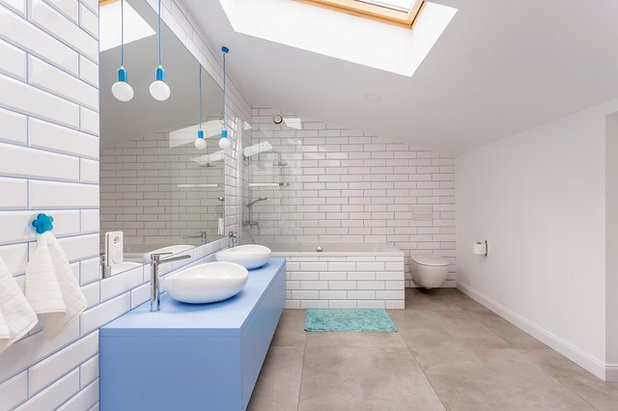 Contemporary Bathroom by Color Revolution Limited