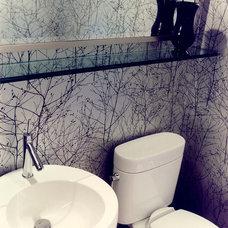 Contemporary Bathroom by J.A. Smith Construction & Design Studio