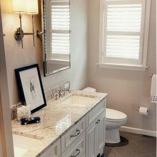 Traditional Bathroom by J.A. Smith Construction & Design Studio