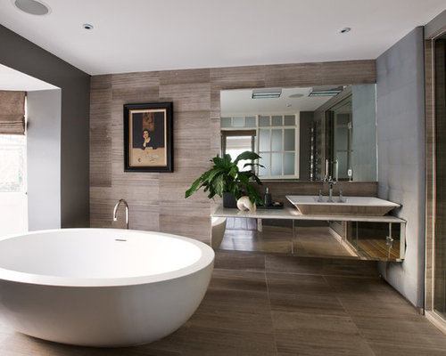 Brown Bathroom Home Design Ideas Pictures Remodel And Decor