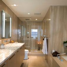 Contemporary Bathroom by Janice Girard Design