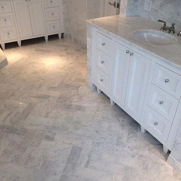 Project Herringbone Bathroom - Pic 2