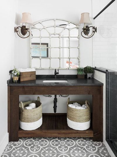 Eclectic Bathroom by Willow Homes