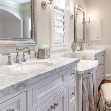 Traditional Bathroom by Carl Mayfield Architectural Photographer