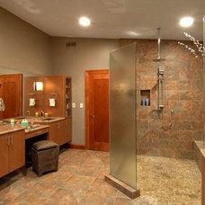 Contemporary Bathroom by Cabin John Builders