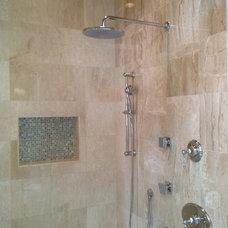 Traditional Bathroom by Rob Clark Construction Inc.