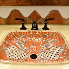 Mediterranean Bathroom by Talavera & Ceramic Tile Studio