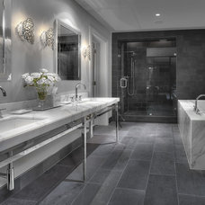 Contemporary Bathroom by Carl Mayfield Architectural Photographer