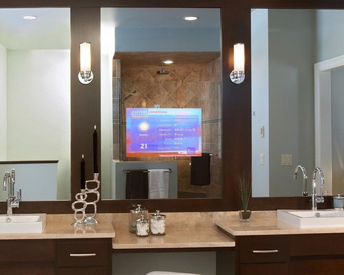 Projector screens mirror tv 39 s creative tv mounts for Mirror projector review