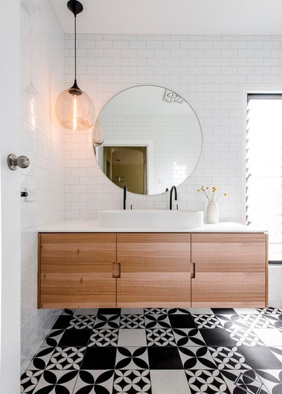 Contemporary Bathroom by Brown's Plumbing and Gas