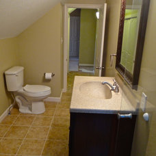 Traditional Bathroom by DMR Construction